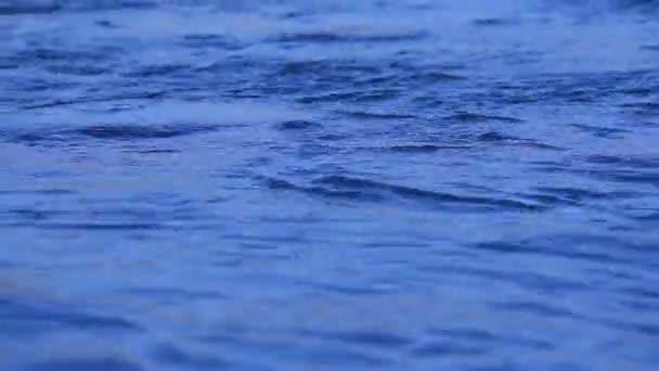 Vodní vlny za měsíčního svitu