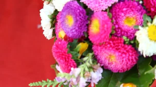 Mikroaufnahme der Blumen