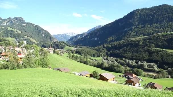 Krásné pozadí švýcarské umístění