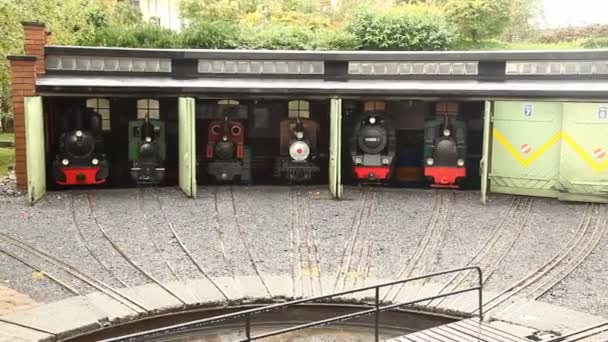 Toy Train Miniature Shed Stock Video Rajastills 91024084