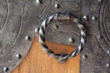 Antique metal door bell