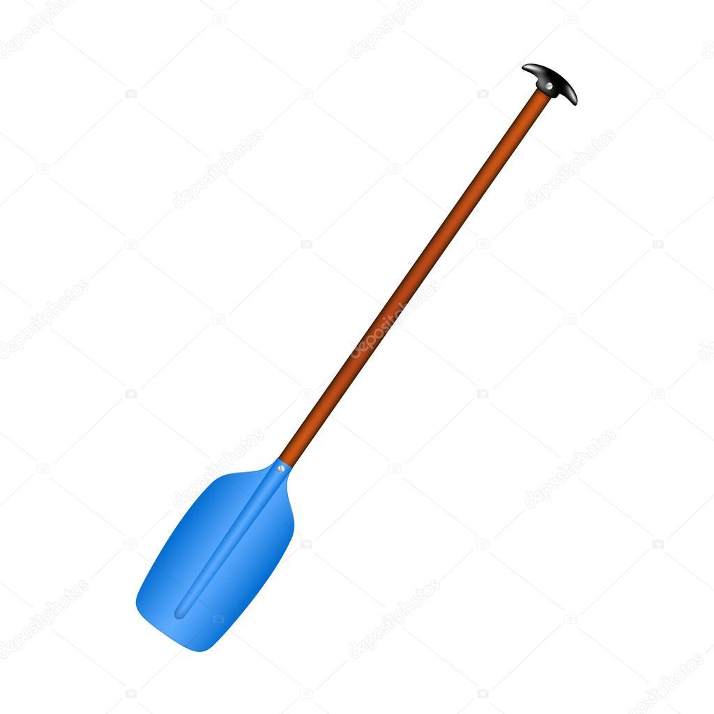 rame sportive en dessin bleu avec manche en bois image vectorielle jirkapravda 60328441. Black Bedroom Furniture Sets. Home Design Ideas