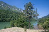 fiume drina in serbia