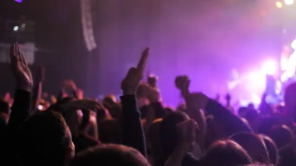 Zenei fesztivál taps party koncert fény