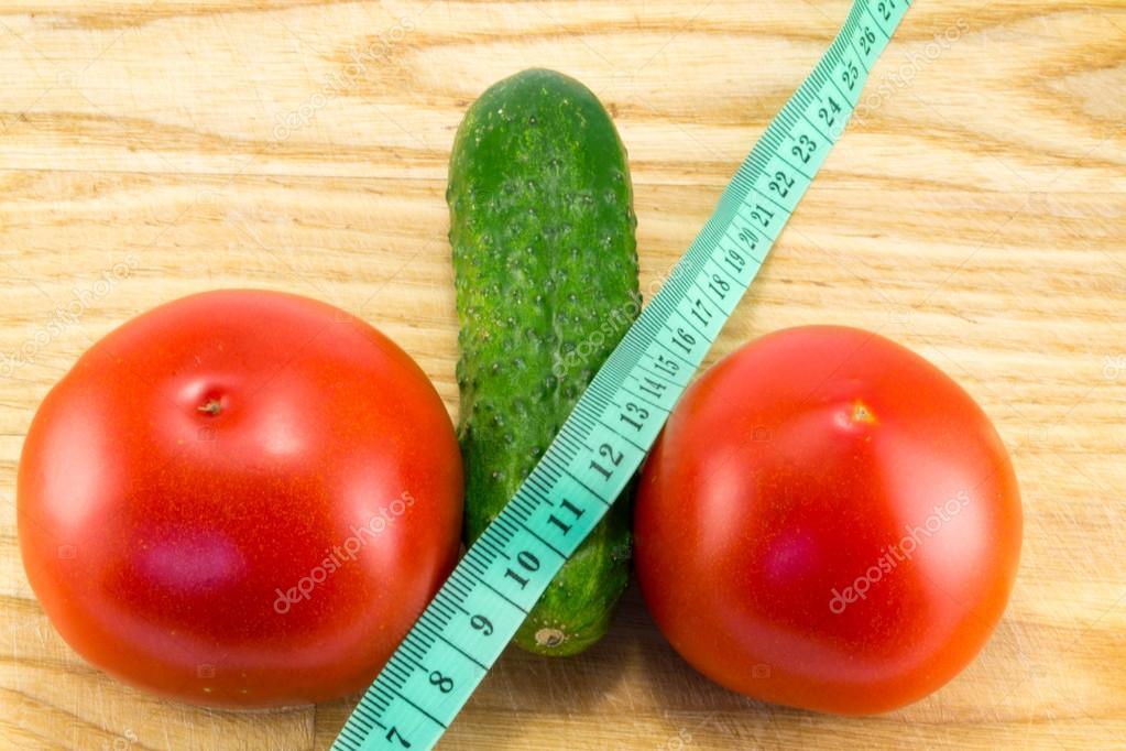 Огуречная и томатные диеты