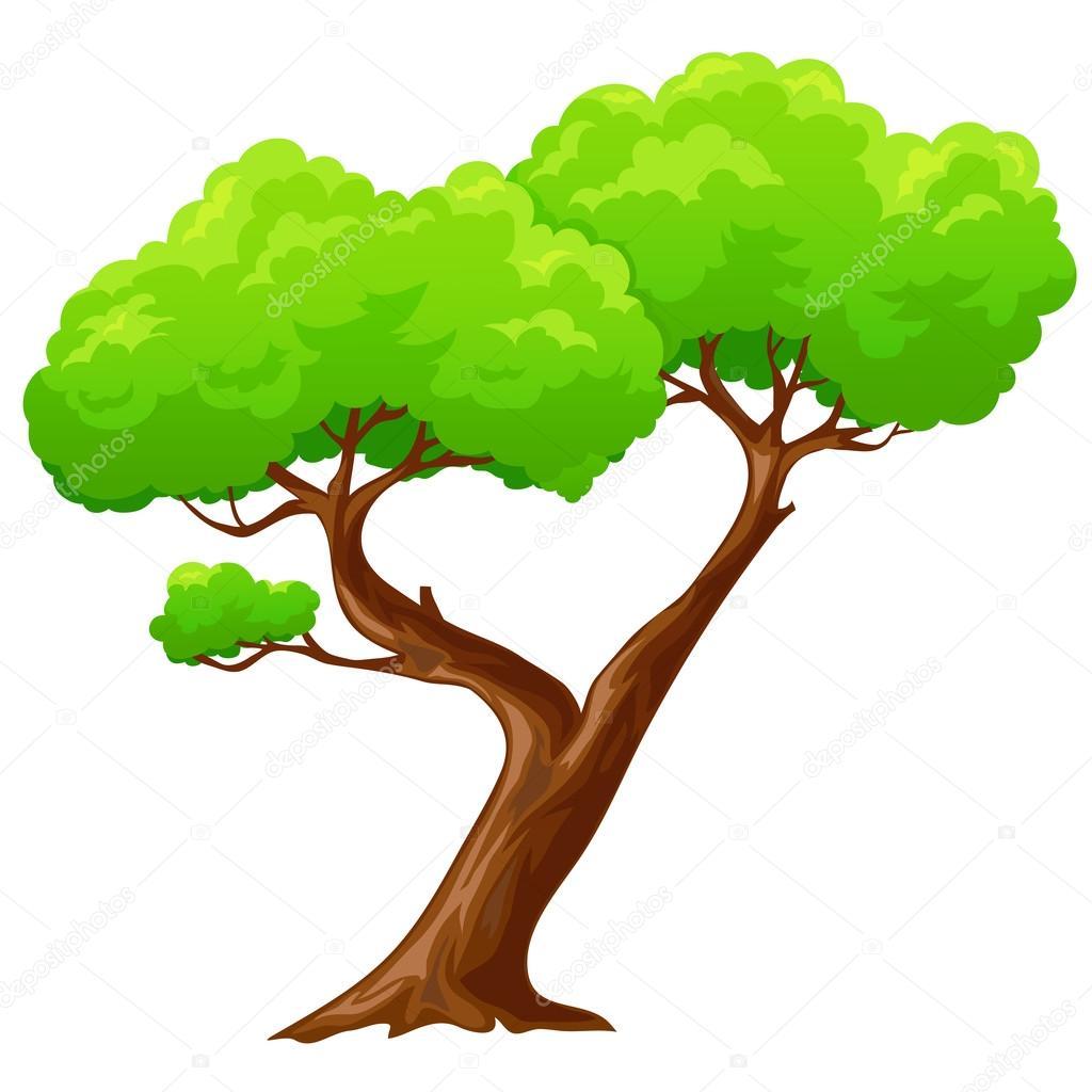 Dibujos Arbol Animados Dibujos Animados De árbol En Forma De