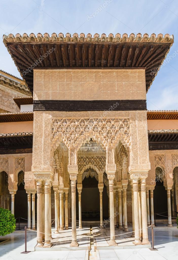 Alhambra arabesque decoration stock photo for Alhambra decoration