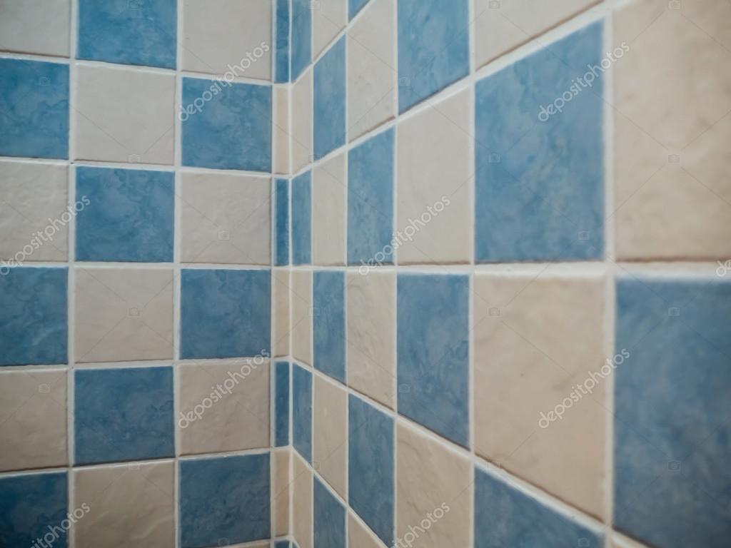 fürdőszoba csempe kék — Stock Fotó © alfonsodetomas #94139150