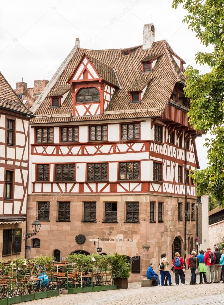 Albrecht Duerer Haus in Nürnberg — Redaktionelles Stockfoto ...
