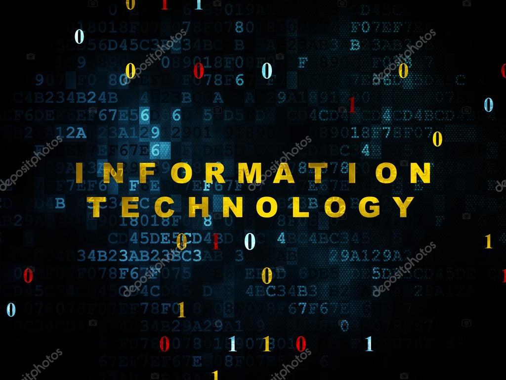 Information concept: Information Technology on Digital background ⬇ Stock  Photo, Image by © maxkabakov #79495244