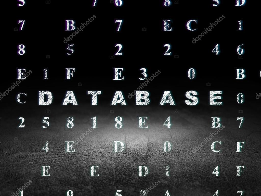 Concepto de programación: base de datos en el cuarto oscuro de ...