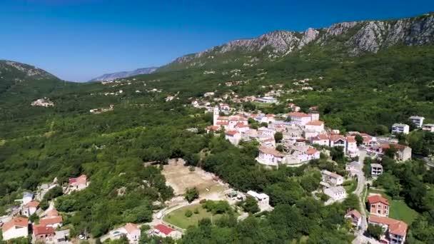 Historické město Bribir v údolí Vinodol, Kvarnerská oblast Chorvatska