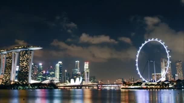 2016-03 timelapse Singapore skyline