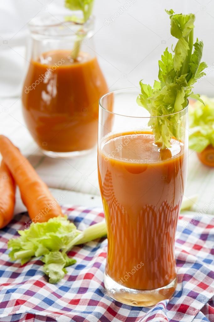 Serviette /'Carrot Smoothie/'