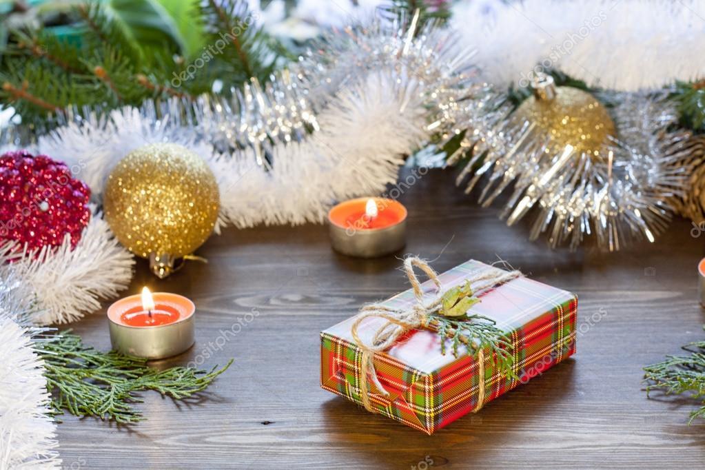 Свечи в подарок на рождество