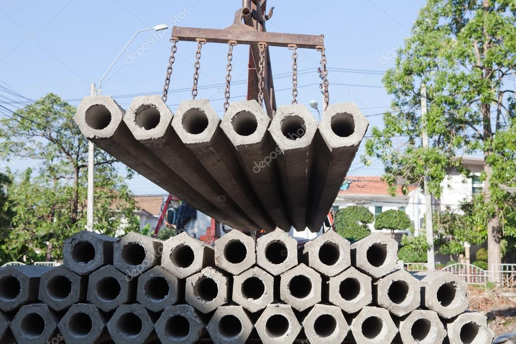 poste concreto construcción para el hogar y casa de construcción de ...