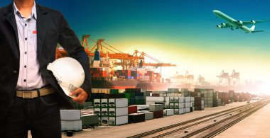 working man and ship,trains ,plane ,freight cargo logistic and i