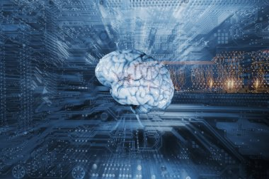 Artificial intelligenc and human brain