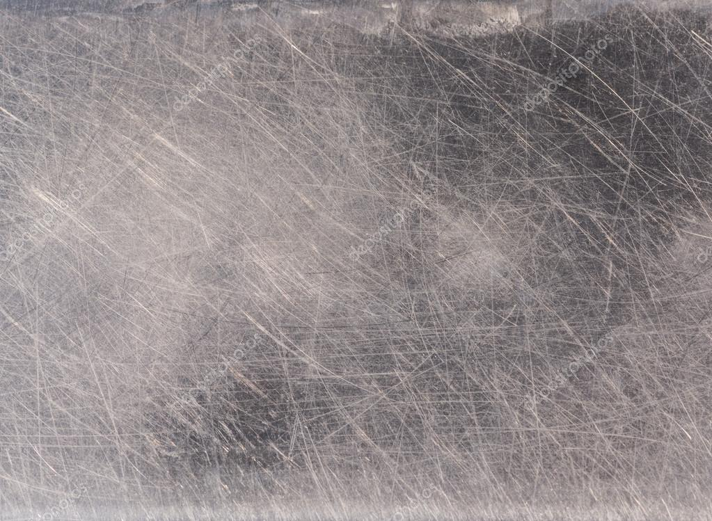 Scratches on stainless steel background Stock Photo wuttichok