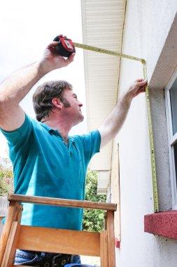 Measuring for Hurricane Shutters