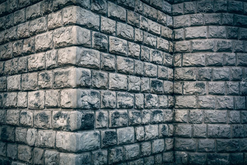 Big Brick Wall Grunge Corner Background Stock Photo C Frameangel