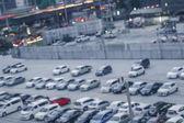 Fotografie Abstrakt verwischen Hintergrund zu parken, flache Tiefenschärfe