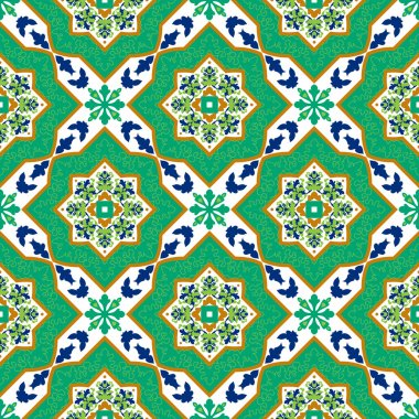 Spanish classic ceramic tiles.