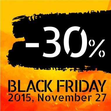 Black Friday discount -30 percent