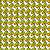Seamless pattern of cacti
