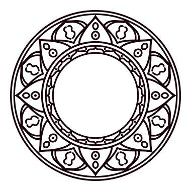 Mandalas decorative elements