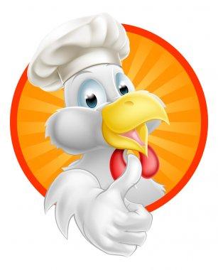 Cartoon Chef Chicken
