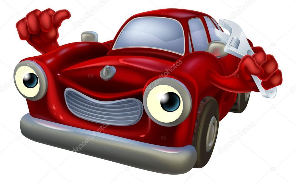 carro de desenho animado com chave vetor de stock krisdog 117188216