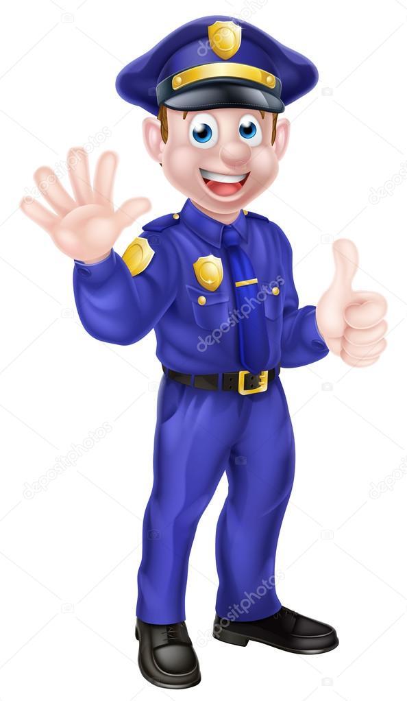 Resultado de imagen de dibujo policia