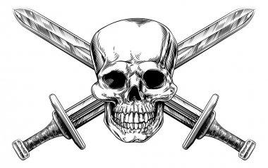 Skull Cross Swords