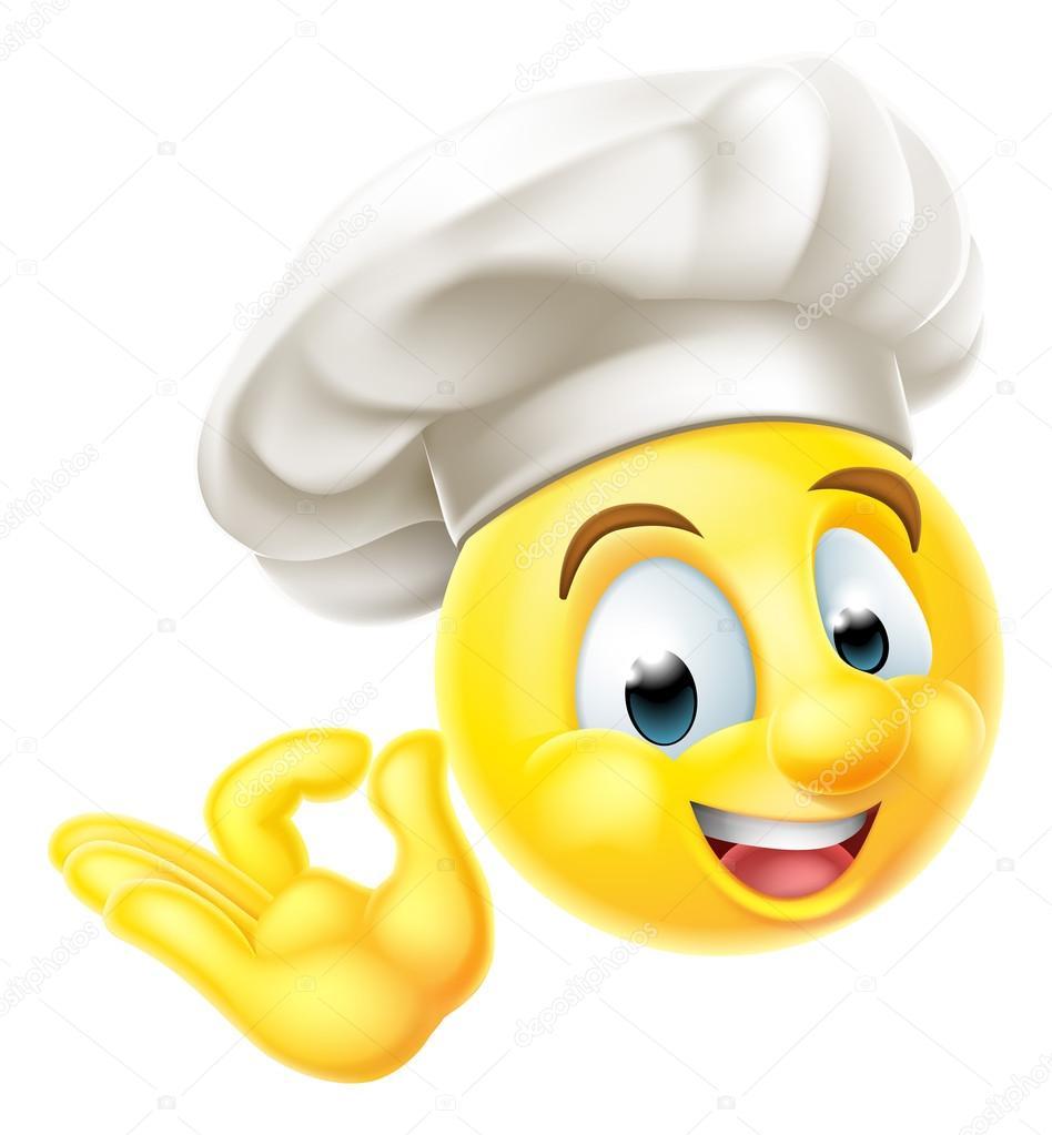 chef cuisinier emoji motic nes image vectorielle krisdog 123801322. Black Bedroom Furniture Sets. Home Design Ideas