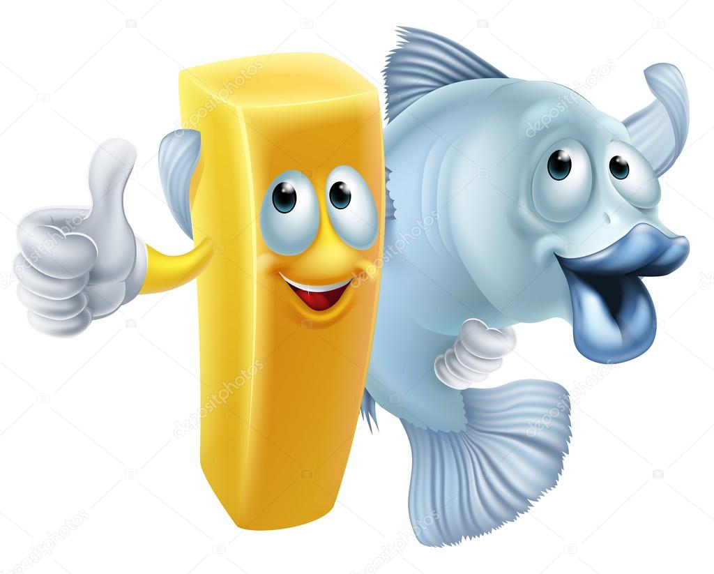 fish and chips cartoon stock vector krisdog 80601368 rh depositphotos com fish and chips cartoon movie fish and chips cartoon youtube