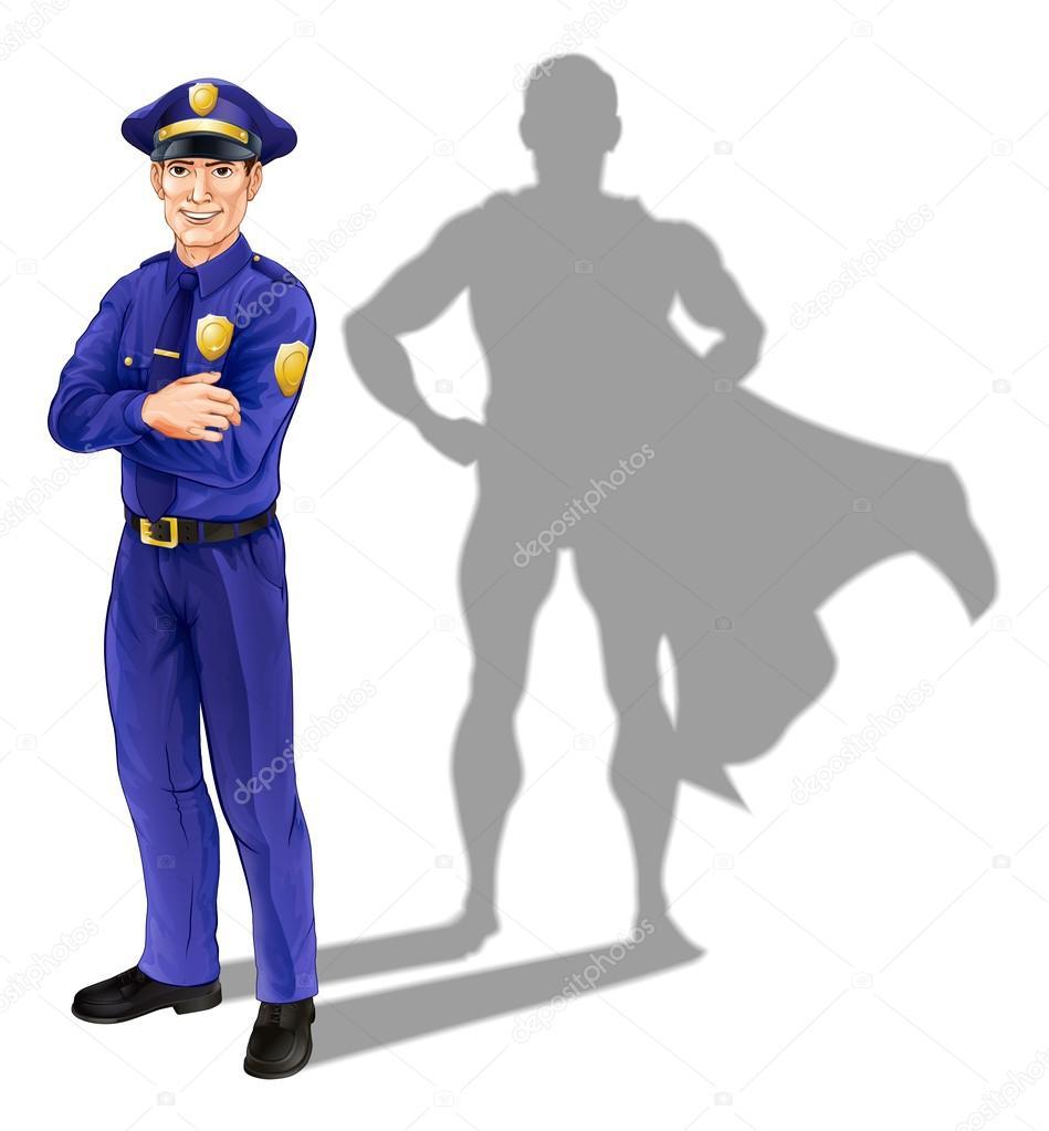 Resultado de imagem para pOLICIAL HEROI