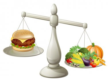 Healthy eating balanced diet