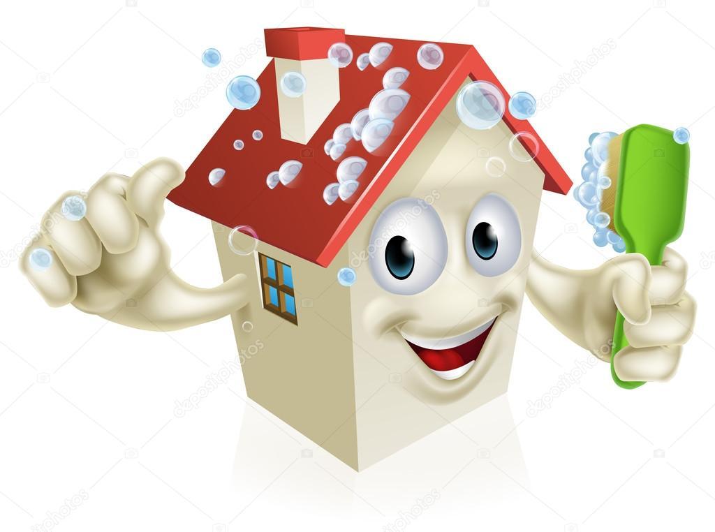 Mascota limpieza casa archivo im genes vectoriales - Imagenes de limpieza de casas ...