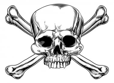 Skull and crossed bones