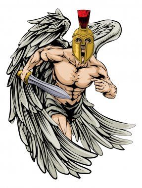 Angel fighter man