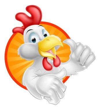Cartoon Chicken Design