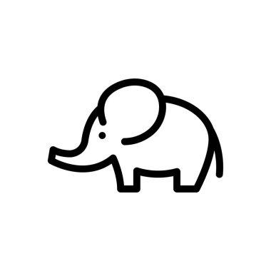 Elephant  icon for website design and desktop envelopment, development. premium pack. icon