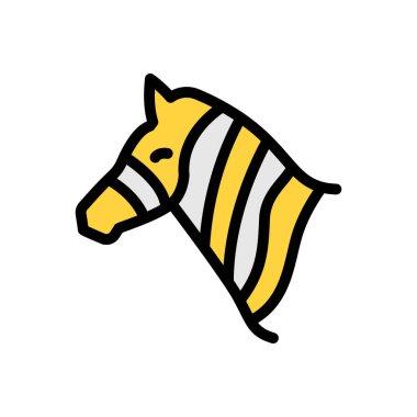 Zebra  icon for website design and desktop envelopment, development. premium pack. icon