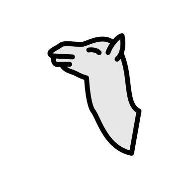 Camel  icon for website design and desktop envelopment, development. premium pack. icon