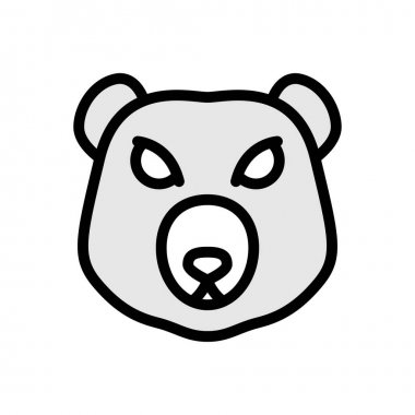 Panda  icon for website design and desktop envelopment, development. premium pack. icon
