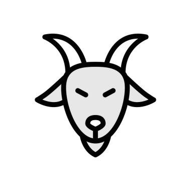 Goat  icon for website design and desktop envelopment, development. premium pack. icon