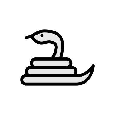 Snake icon for website design and desktop envelopment, development. premium pack. icon