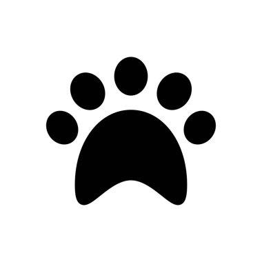 Paw  icon for website design and desktop envelopment, development. premium pack. icon