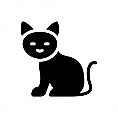 Cat icon for website design and desktop envelopment, development. premium pack. icon